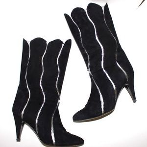 Sugar Shoes - Sugar Vintage Electric Wave Leather Power Boots